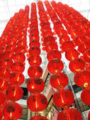 Garlands of Chinese lanterns — Photo
