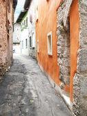 Callejuela de cannobio. italia — Foto de Stock