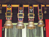 Traditional Swiss bells in Jungfrau region — Stock Photo