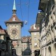 Famous Zytgloggeturm (1218) in Bern, Switzerland — Stock Photo