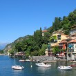Varenna, old Italian town on the shore of the lake Como — Stock Photo #21079703