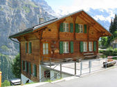 Cottage in Muerren, Switzerland — Stock Photo