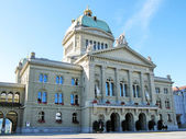 Swiss Parliament, Bern — Stock Photo