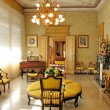 Interior of villa Monastero. Lake Como, Italy - Foto Stock