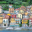 Varenna town at the famous Italian lake Como — Stock Photo #21081331