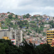 Jungle of city slum in Caracas, Venezuela - Stock Photo