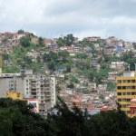 Постер, плакат: Jungle of city slum in Caracas Venezuela