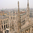 Stock Photo: Milan cathedral dome