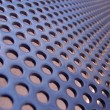 Stock Photo: Blue-steel mesh