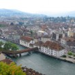 Panoramic view of Lucern, Switzerland — Stock Photo #21086799