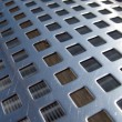 Stock Photo: Metal mesh texture