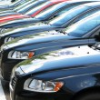 Stock Photo: Row of cars