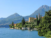 Lake Como from villa Monastero. Italy — Stock Photo