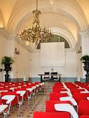 Conference hall. Villa Monastero, Italy — Stock Photo