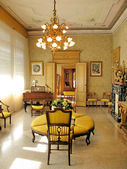 Interior of villa Monastero. Lake Como, Italy — Stock Photo