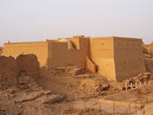 Diriyah, clay fortress in Er Riyadh, Saudi Arabia — Stock Photo