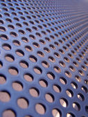 Blue-steel mesh — Stock Photo