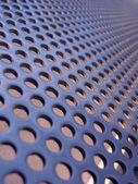 Blue-steel mesh — Stock Photo