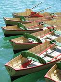 Row of boats — Stock Photo