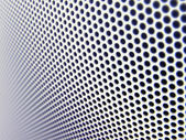 Metal mesh texture (shallow DOF) — Stock Photo