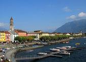 Ascona town, Switzerland — Stock Photo