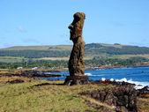 Ahu Tahai. Moais of Easter Island — Stock Photo