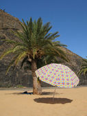 Teresitas beach, Tenerife island, Canaries — Stock Photo