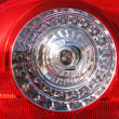 Rear light of a car - Stock Photo