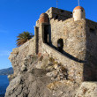 Middle age fortress Castello della Dragonara in Camogli, Italy — Photo