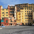 Panorama of Camogli, Italian Riviera — Stock Photo