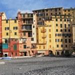 Panorama of Camogli, Italian Riviera — Stock Photo