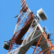 Telecommunication tower — Foto de stock #21090701