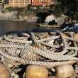 Royalty-Free Stock Photo: Bunch of fishnets. Camogli, Italy