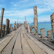 Pathway to the sea. Langkawi, Malaysia — Stock Photo #21091237