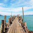 Pathway to the sea. Langkawi, Malaysia — Stock Photo #21091243