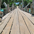 Wooden pathway. Langkawi island, Malaysia — Stock Photo