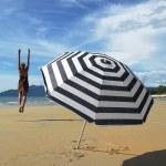 Beach scene. Langkawi, Malaysia — Stock Photo #21091865