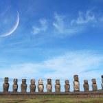 Ahu Tongariki, Easter Island — Stock Photo #21092117