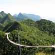 Langkawi hanging bridge — Stock Photo