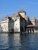 Chillon castle, Geneva lake — Stock Photo