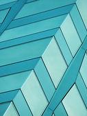 墙上的一座摩天大楼 — 图库照片