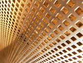 Bronze mesh — Stock Photo