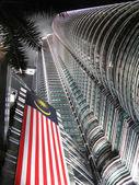 Petronas towers at night. Kuala Lumpur, Malaysia — Stock Photo
