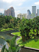 Kuala Lumpur city center — Stockfoto