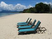 Escena de la playa. isla de langkawi, brinda — Foto de Stock
