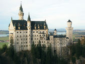 Neuschwanstein castle -- a worlds wonder — Stock Photo
