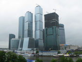 Business district of Moscow — Stock Photo