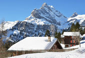Braunwald, Switzertland — Stock Photo