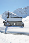 Chapel in Melchsee-Frutt, Switzerland — Stock Photo