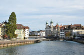Jesuit church in Luzern, Switzerland — Stock Photo